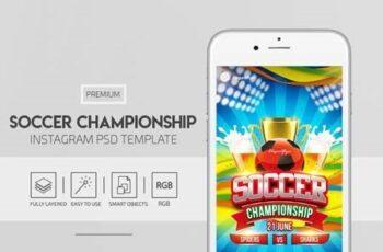 Soccer Championship - Premium PSD Flyer Template 115886 5