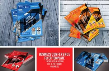 Business conference flyer 4629002 5