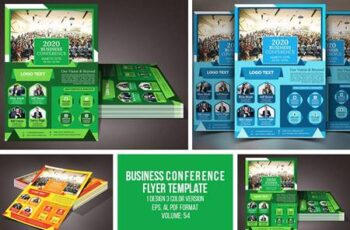 Business Conference Flyer 4629081 4