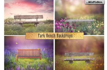 Park Bench Backdrops 5013302 4