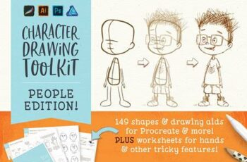 Procreate People Drawing Toolkit 4939186 8