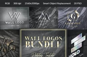 Wall Sign Mockups Bundle 26849229 6
