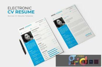 Electronic - CV & Resume W2YN25W 4