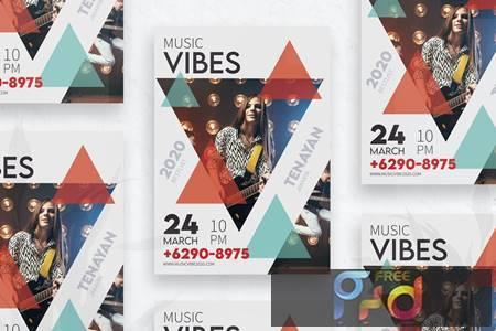 Music Flyer vol.01 H2EL5JW 1