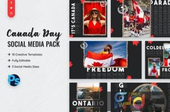 Canada Day Social Media Template XL7NVMP 4