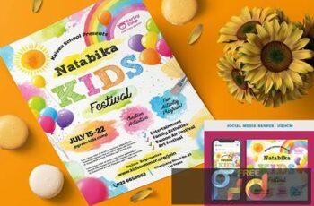 Kids Festival Flyer RRKUR5G 7
