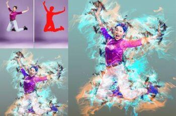 Smoke Effect Photoshop Action 26171991 14