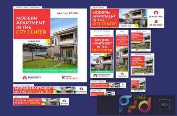 Real Estate Banners Ad V38XVZ7 5