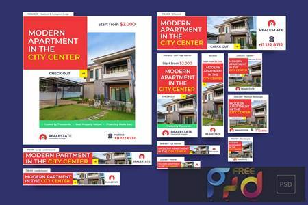 Real Estate Banners Ad V38XVZ7 1