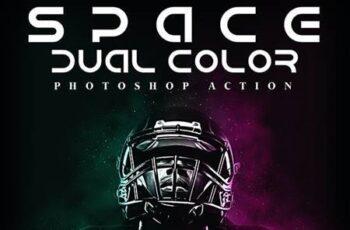 Space Dual Color Photoshop Action 26134438 3