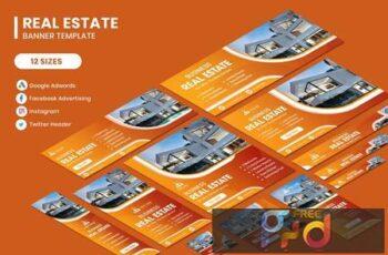 Real Estate Google Adwords Banner Template 3CNL9YU 7