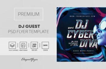 Dj Guest – Premium PSD Flyer Template 116220 3