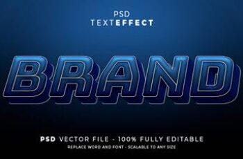 PSD TEXT EFFECT 5