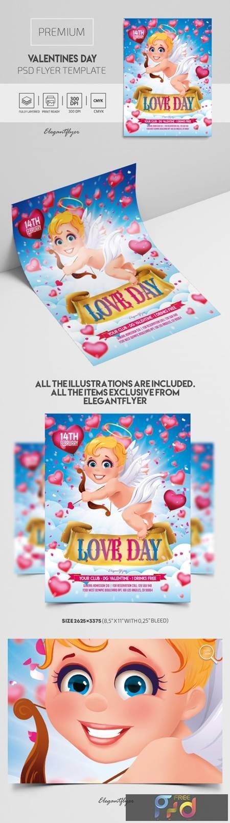 Valentines Day – Premium PSD Flyer Template 116484 1