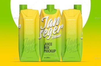 Juice Box Mockup 26693651