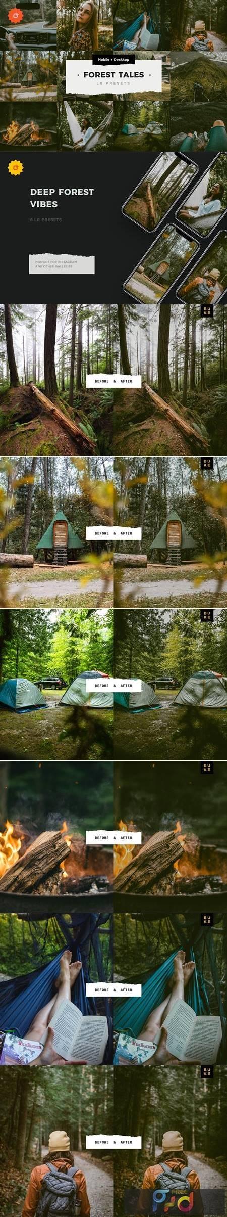 4 Forest Tales – Lightroom Presets 5003403 1