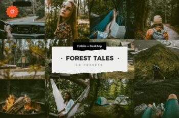 4 Forest Tales – Lightroom Presets 5003403