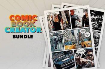 Comic Book Creator Bundle 6