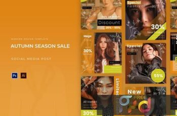 Autumn Season Sale Instagram Post 5AKHHVX 7