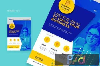 Bussiness Creative Flyer XZY7RBD 2