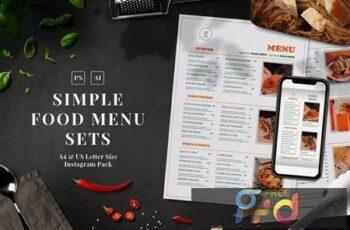 Simple Food Menu Set LZTGXN5 9