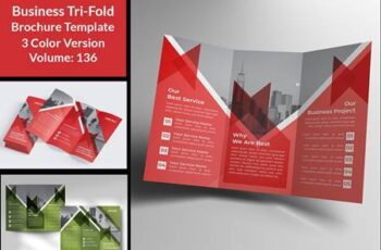Business Tri-fold Brochures Design 4664107 14