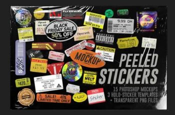 Peeled Paper Stickers 4066433