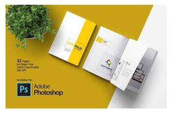PSD Portfolio Template 5017663 5