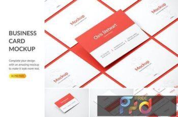 Business Card Mockup WMEYME5 4