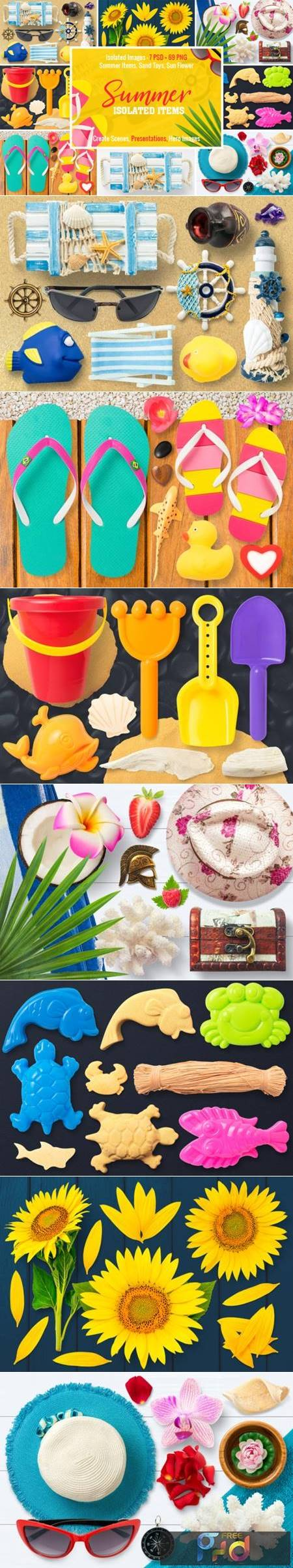 Isolated Summer Items 4264444 1