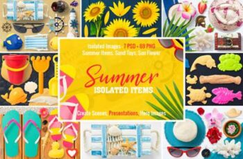 Isolated Summer Items 4264444 8