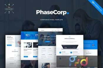 PhaseCorp - Corporate E-newsletter Template EJCFA37 4