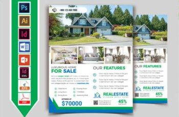 Real Estate Flyer Template Vol-10 4264550 3