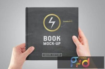 Square Book Mock-Up TQRNCVC 10