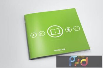 Square Brochure Mock-up ETX6BEC 4