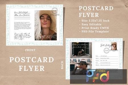 Vintage Postcard Flyer Vol 04 Q4VNP87 1