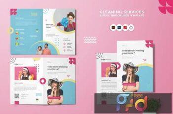 Cleaning Service Bi-Fold Brochure JCC9E52 3