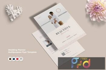 Wedding Planner Flyer 3GAH8RF 9