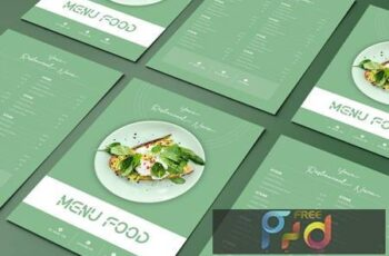 Menu Food Green Two Sided Menu List Template 7S9ZY9Y 7