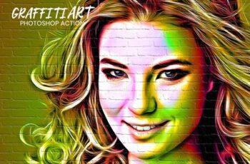 Graffiti Art Photoshop Action 5013334