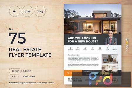 Real Estate Flyer Template 75 - Slidewerk YZ3NBHH 1
