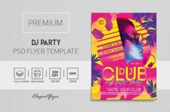 DJ Party - Premium PSD Flyer Template 116806 6