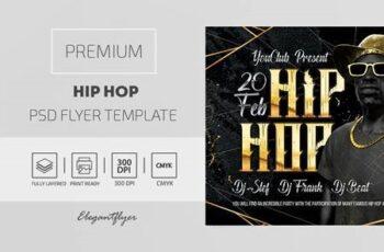 Hip Hop - Premium PSD Flyer Template 116934 6