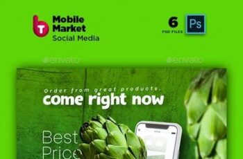 Mobile Market Social Media Post and Stories 26278797 10