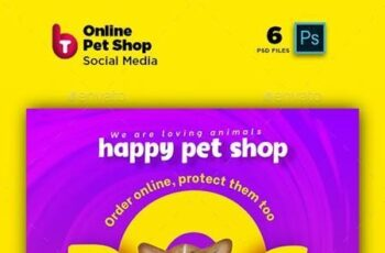 Online Pet Shop Social Media Post & Stories 26267431 9