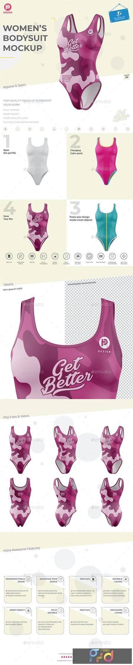 Womens Bodysuit Mockup V2 26697053 1