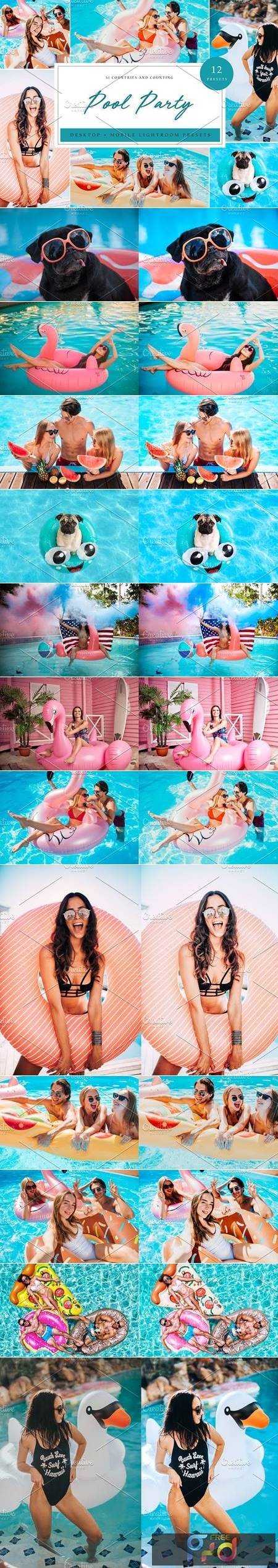 Lightroom Presets - Pool Party Theme 5039572 1