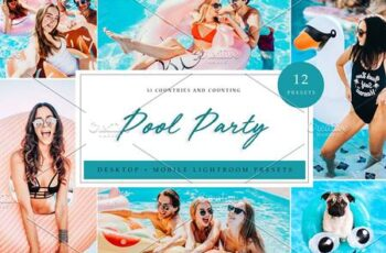 Lightroom Presets - Pool Party Theme 5039572