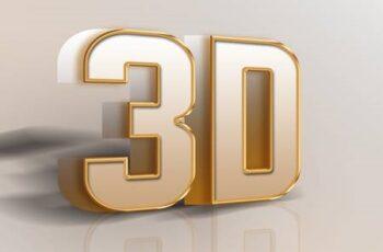 3D Text Styles Vertical 26645967 9
