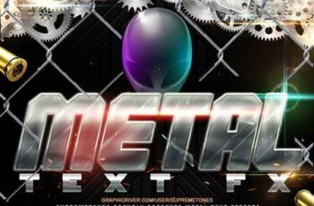 Metal Photoshop Text Effects 26266957 4